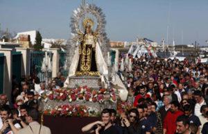 Programación en Isla Cristina para el Sábado Festividad de Ntra. Sra. del Carmen