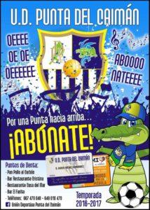 En Marcha la Campaña de Captación de Socios de la U.D. Punta del Caimán