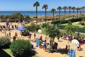 El circuito tres por tres de baloncesto llega este fin de semana a Islantilla