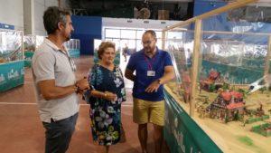 Abierta la exposición dedicada a los clicks de Playmobil en Isla Cristina