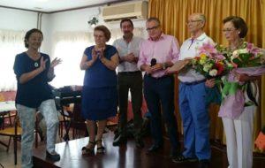 El Centro de Participación Activa de Mayores de Isla Cristina rinde homenaje a su Socio Marinero en las Fiestas del Carmen