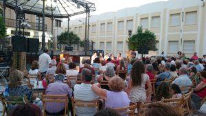 La Plaza de la Paz se lleno de publico