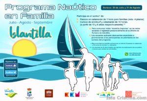 Presentado el Programa Náutico en Familia de Islantilla 2016