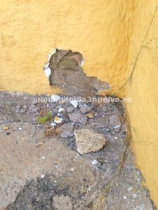 Explosionan un petardo en el muro del cuartel de la Guardia Civil de Ayamonte