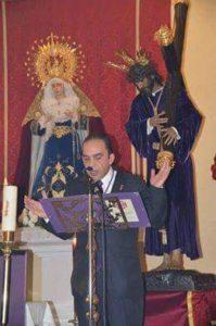 Carmelo Fernández Faneca, Pregonero de la Semana Santa de Isla Cristina 2017