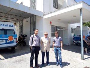 Junta reforzará un año más el centro de salud de Isla Cristina
