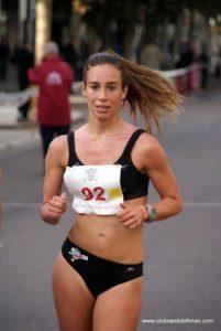 La atleta lepera Laura García-Caro en busca del Campeonato de España Absoluto