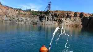 Lago «asesino» en Huelva