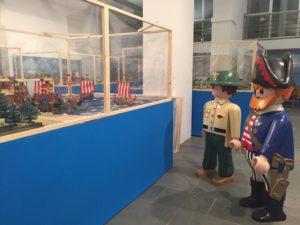 Isla Cristina acoge desde este viernes una exposición con 10.000 figuras de Playmobil