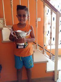 El isleño Kevin Irala Alonso Campeón Sub 8, del Open de la Antilla