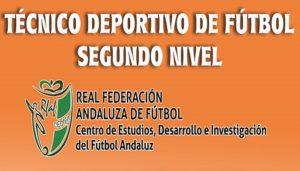 Abierto el plazo de inscripción para Técnico Deportivo de Fútbol Segundo Nivel