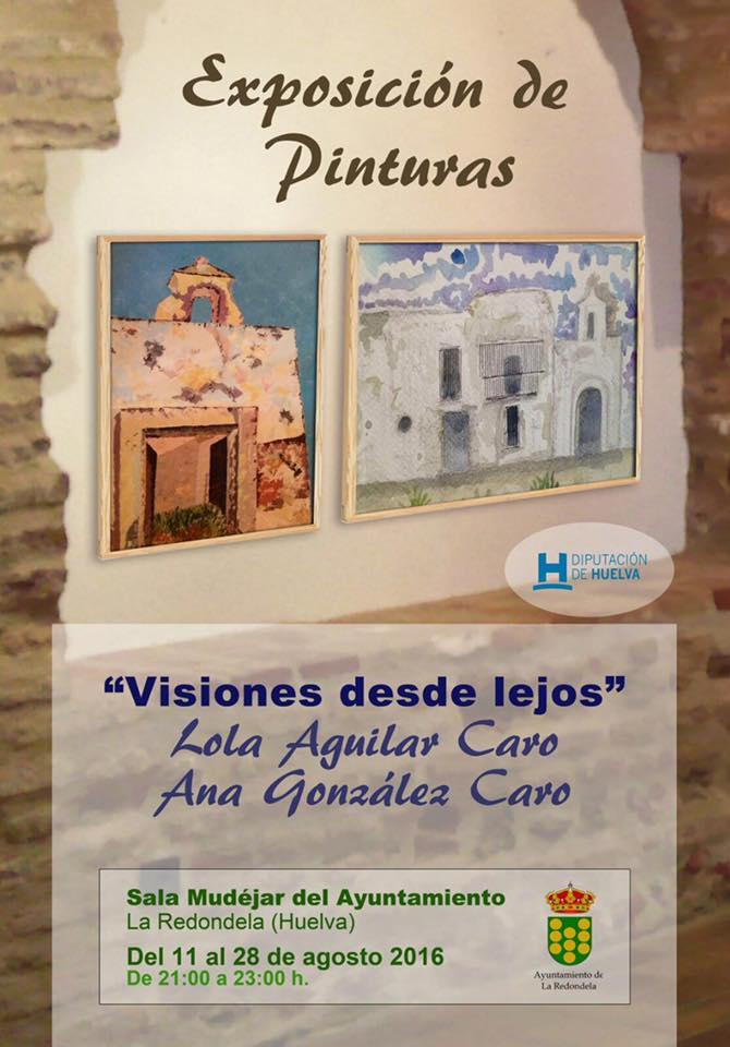 Exposición de Pintura en La Redondela de Lola Aguilar & Ana González