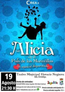 'Alicia en el País de las Maravillas' en Isla Cristina