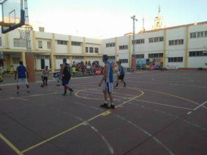 Sigue la emoción del baloncesto en el CP Ángel Pérez de Isla Cristina