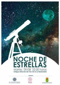 Noche de Estrellas en la Laguna del Prado de La Redondela