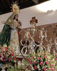 La Procesión de la Virgen de la Esperanza pondrá hoy el broche de oro a las Fiestas de La Redondela
