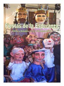 """Programa de las Fiestas en Honor a Nuestra Señora de La Esperanza 2016 """"La Redondela"""""""