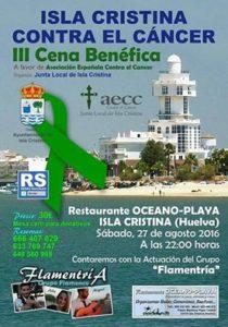 Isla Cristina Contra el Cáncer «III Cena Benéfica»