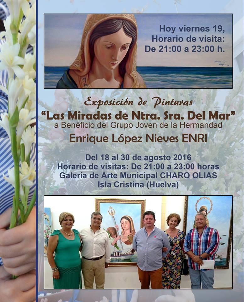 """Exposición de Pinturas """"Las Miradas de Nuestra Señora del Mar"""""""