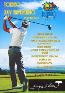 El Torneo Aniversario pone el broche de oro a la temporada de golf en Islantilla
