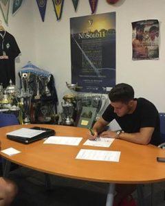El delantero isleño Adri Sánchez, ficha por el Cádiz CF