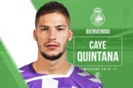 El Racing se refuerza con la llegada del delantero isleño Caye Quintana