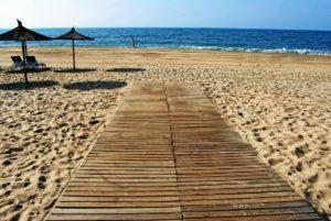 Un largo paseo en la naturaleza de las playas de Isla Cristina
