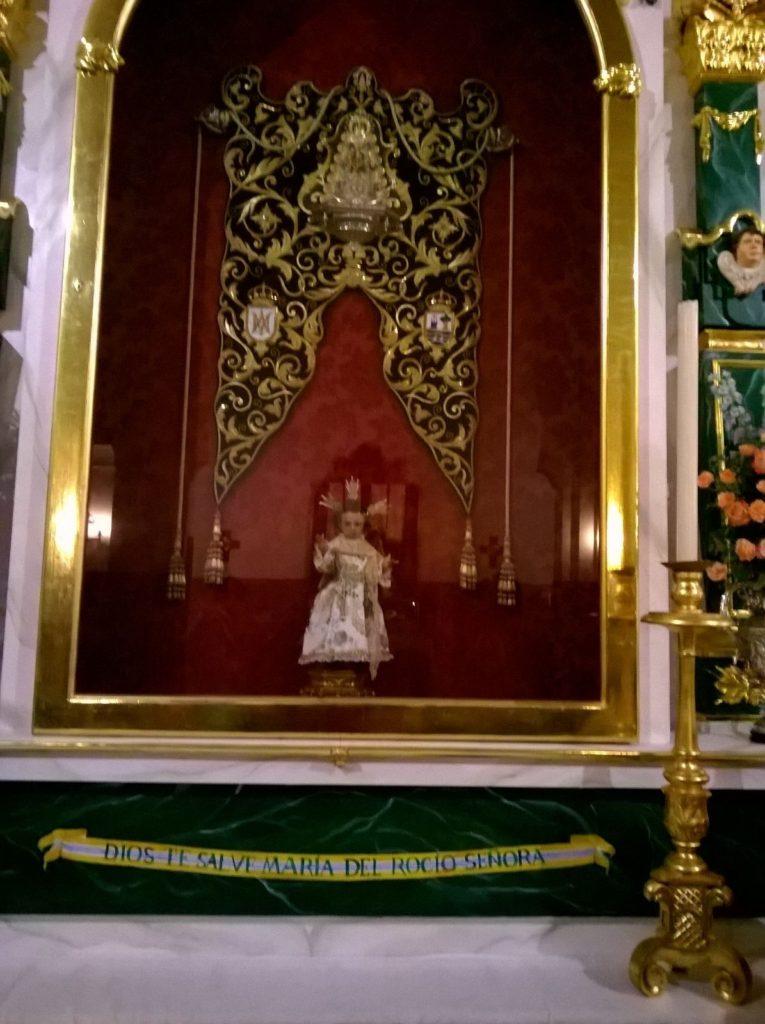 Sabatina mes de septiembre de la Hermandad del Rocío de Isla Cristina