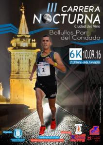 Bollullos celebra la III Carrera Nocturna Ciudad del Vino