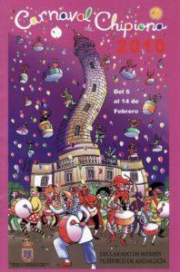 Cartel del carnaval de Chipiona de 2010