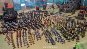 Isla Cristina acoge hasta el próximo domingo la exposición de Playmobil