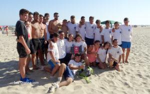 Las Hienas Campeón del III Torneo de Rugby `Playa de Isla Cristina´