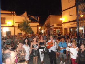 La escuela de canto de José María de Lepe canta la Salve en Isla Cristina