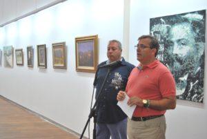 El ayuntamiento de Isla Cristina muestra el patrimonio pictórico municipal