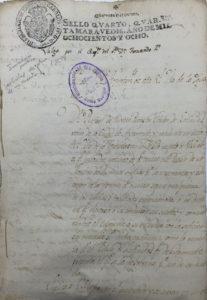 Documento del Mes de septiembre. Señores del ilustre Ayuntamiento de esta Real Isla de la Higuerita