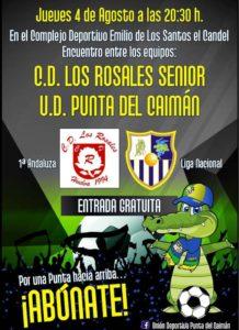 El juvenil de la Punta juega su primer amistoso en Isla Cristina ante Los Rosales.
