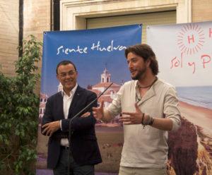 Manuel Carrasco: orgulloso embajador de Huelva y su provincia