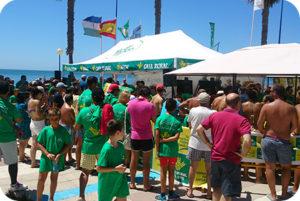 'Bicicleta solidaria' este sábado en la playa de La Antilla