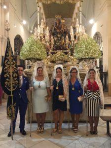 «La Hermandad del Rocío de Isla Cristina con la Esperanza y la Bella»
