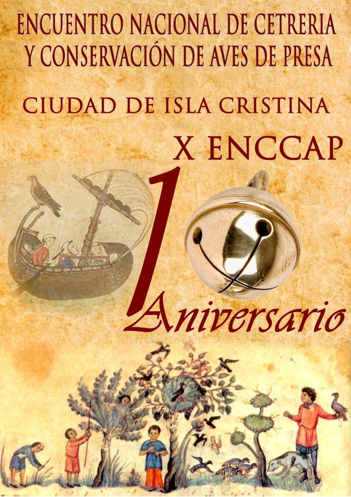 """(Encuentro Nacional de Cetrería y Conservación de Aves de Presa) """"Ciudad de Isla Cristina"""""""