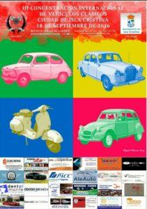 Programa de la III Concentración Internacional de Vehículos Clásicos Ciudad de Isla Cristina
