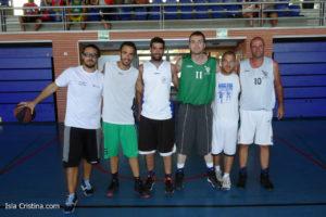 Buen comienzo del Campeonato de Baloncesto Internacional de Isla Cristina