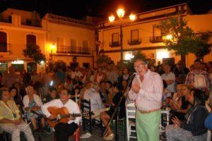 El poeta isleño Diego Martín Jara en la Salve del próximo viernes en Isla Cristina