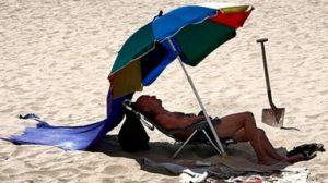 Las Cosas de Goyo «Manual de instalacion de sombrillas voladoras en la playa»