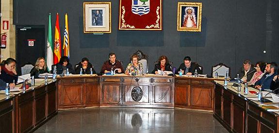 El ayuntamiento isleño de solidariza con los afectados en el incendio de Doñana