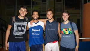 Negro Team y que Rico Hijo, en la gran final del Torneo Internacional de Baloncesto Ciudad de Isla Cristina