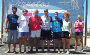 Rubén Gutiérrez Subcampeón Absoluto de la Travesía a Nado Playas de Punta Umbría.