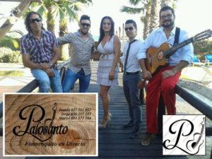 """El grupo flamenco isleño """"Palosanto"""" en las Fiestas Patronales de Brunete"""