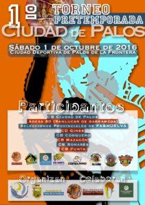 Torneo de Pretemporada «Ciudad de Palos´´