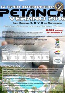 Isla Cristina celebra este fin de semana el IV Open Internacional de Petanca